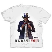 Batman Arkham City Two Face Wants You T-Shirt
