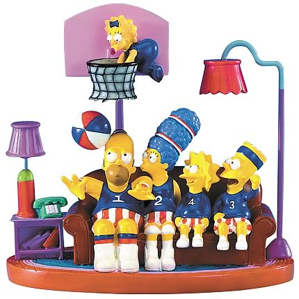 Simpsons: Couch Trotters Statue