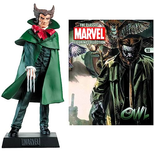 Marvel Owl Collector Magazine with Figure