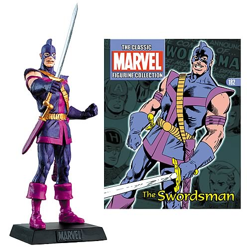 Marvel Swordsman Collector Magazine with Figure