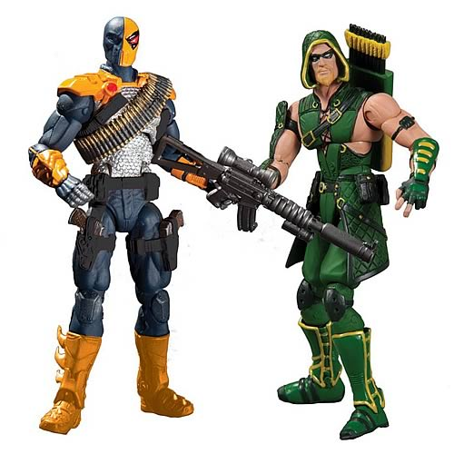 Injustice Green Arrow & Deathstroke 3 3/4-Inch Figure 2-Pack