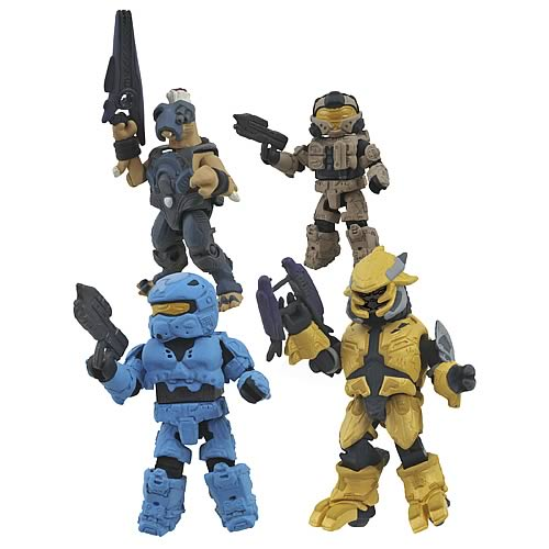 Halo Series 3 Minimates Box Set