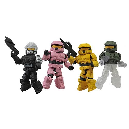 Halo Series 5 Minimates Box Set