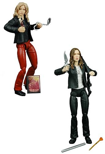 "Buffy & Faith: ""Graduation Day"" Deluxe Action Figure Case"