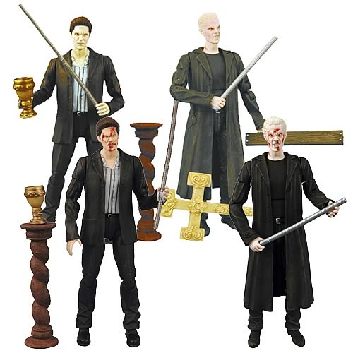 Buffy Spike & Angel Deluxe Action Figure Assortment 2