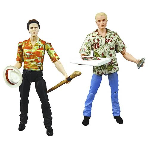Buffy Angel & Spike Hawaiian Shirt Action Figure 2-Pack