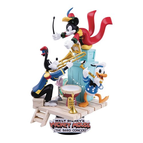 Disney The Band Concert D-Stage 6-Inch Statue - Previews Exclusive