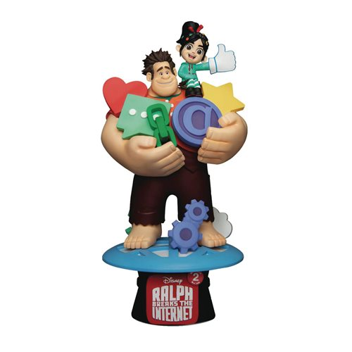 Wreck-It-Ralph with Vanellope D-Stage DS-056 6-Inch Statue