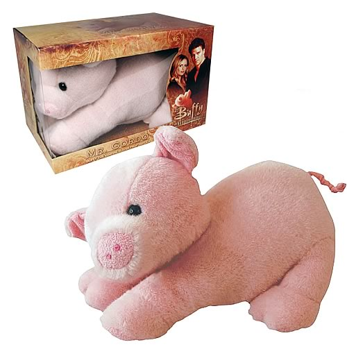 Buffy Mr. Gordo Pig Plush Replica