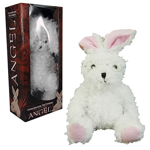 Buffy/Angel Feigenbaum Bunny Plush Replica