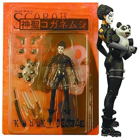 Kabuki Scarab Signed Action Figure