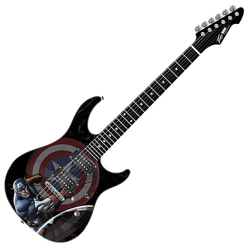 Captain America Predator Plus EXP Electric Guitar