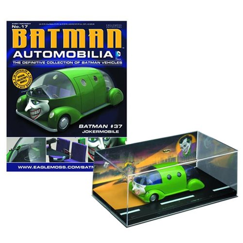 Batman #37 Jokermobile Die-Cast Metal Vehicle with Magazine