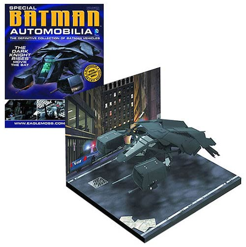 Batman Dark Knight Rises The Bat Die-Cast Metal Vehicle