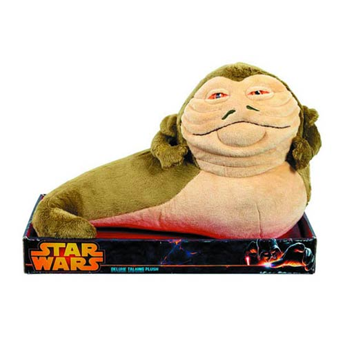 Star Wars Jabba the Hutt Exclusive 12-Inch Talking Plush