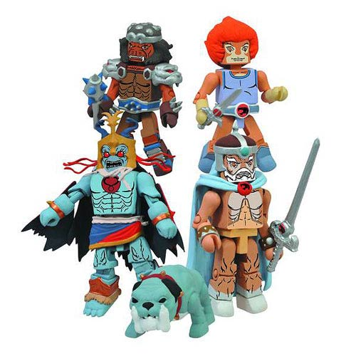 ThunderCats Minimates Series 4 Box Set