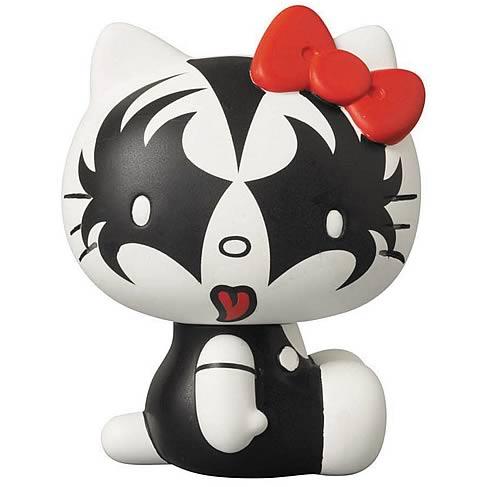 Hello Kitty KISS The Demon Vinyl Collector Figure