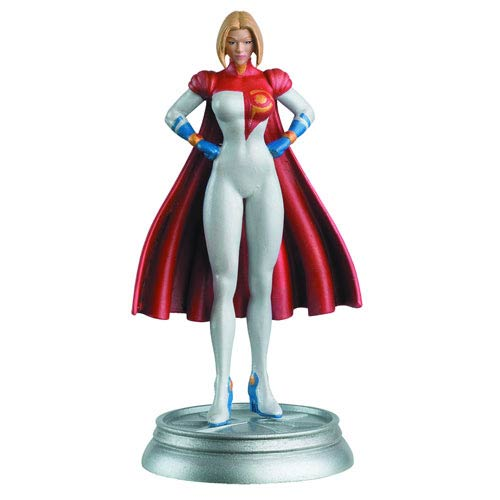 DC Superhero Power Girl White Pawn Chess Piece & Mag