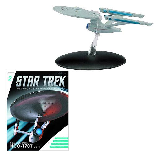 Star Trek Starships USS Enterprise NCC-1701 Vehicle & Mag.