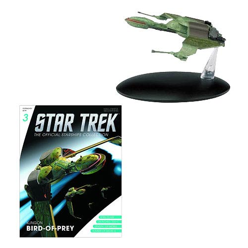 Star Trek Starships Klingon Bird of Prey Figure with Mag.