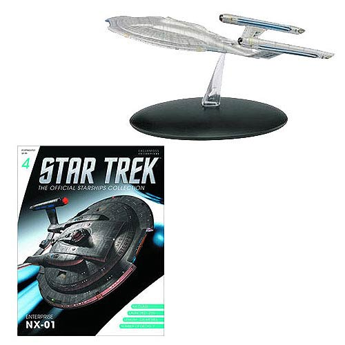 Star Trek Starships Enterprise NX-01 Figure with Magazine