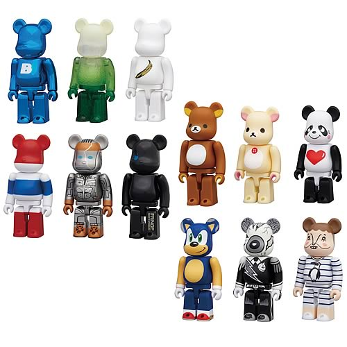 Kubrick Bearbrick Series 23 Mini-Figure Random 4-Pack