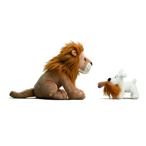 Adventures of Tintin Snowy and Lion Plush 2-Pack