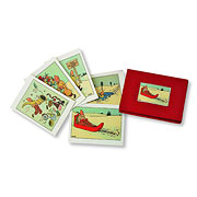 Adventures of Tintin Christmas Card 10-Pack