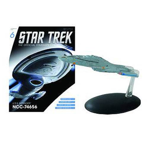 Star Trek Starships U.S.S. Voyager NCC-74656 with Magazine