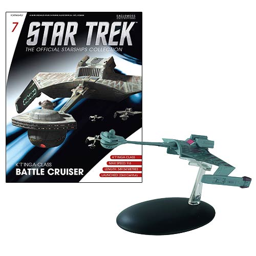 Star Trek Starships Klingon K't'inga Battle Cruiser Vehicle