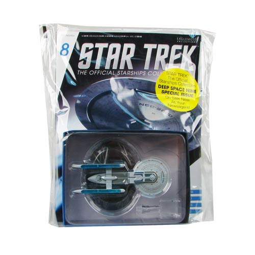 Star Trek Starships U.S.S. Excelsior NCC-2000 with Magazine