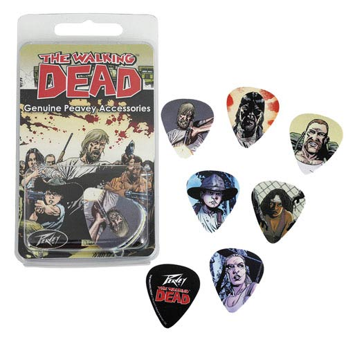 The Walking Dead Characters Guitar Pick Pack