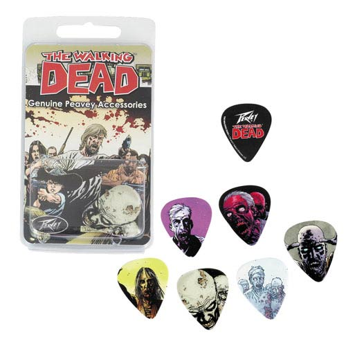 The Walking Dead Zombies Guitar Pick Pack