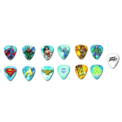 DC Comics Heroes Guitar Pick Pack 1