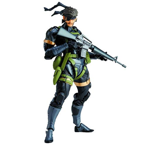 Metal Gear Solid Peace Walker Snake Revoltech Action Figure