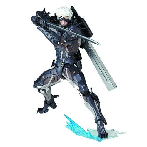 Metal Gear Rising Revengence Raiden Revoltech Action Figure
