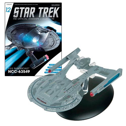 Star Trek Starships U.S.S. Akira Vehicle with Magazine