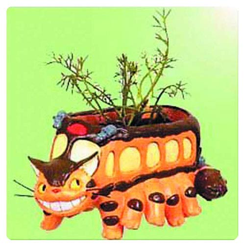 My Neighbor Totoro Cat Bus Running Planter Cover