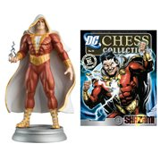 DC Superhero Shazam White Pawn Chess Piece with Magazine