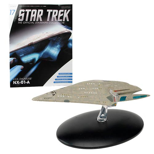 Star Trek Starships USS Dauntless Vehicle with Magazine