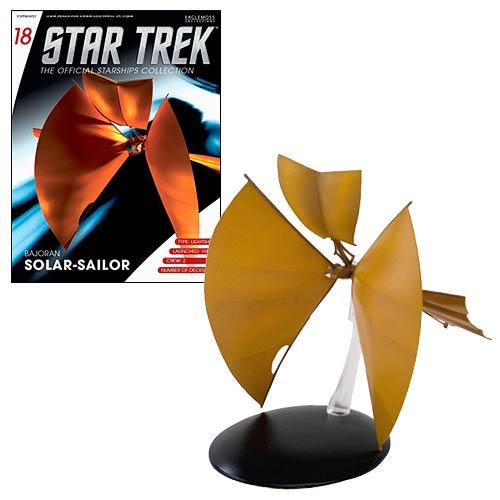 Star Trek Starships Bajoran Light Ship Vehicle with Magazine