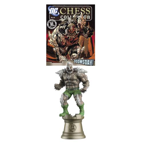 DC Superhero Doomsday Black Rook Chess Piece with Magazine