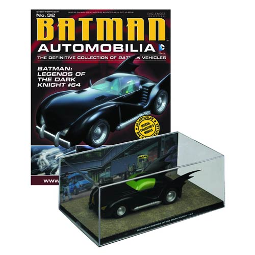 Batman Legends of the Dark Knight Batmobile with Magazine