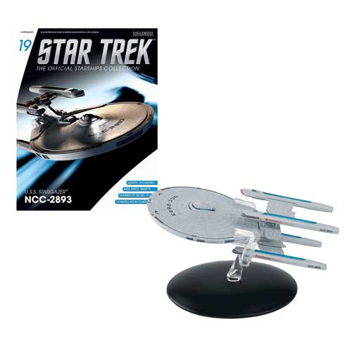 Star Trek Starships U.S.S. Stargazer Vehicle with Magazine