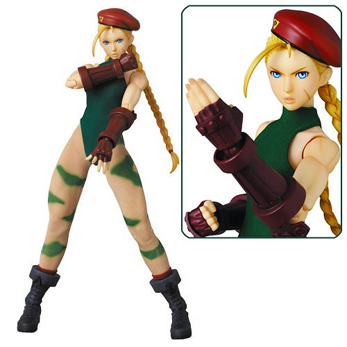 Street Fighter IV Cammy Real Action Heroes Figure