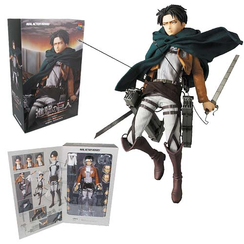 Attack on Titan Levi Real Action Heroes Figure