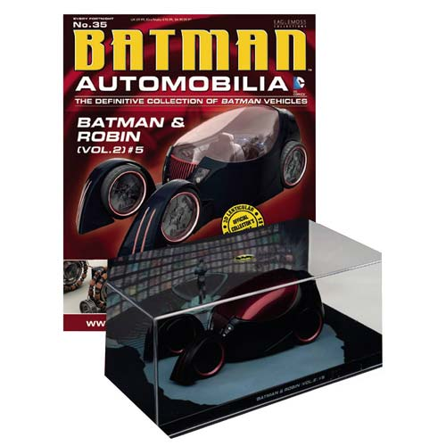 Batman and Robin Vol. 2 Batmobile Die-Cast Vehicle & Mag.