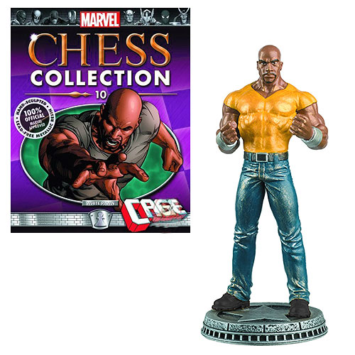 Marvel Luke Cage White Pawn Chess Piece with Magazine
