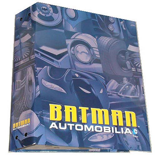 Batman Automobilia Figure Collection Magazine Binder