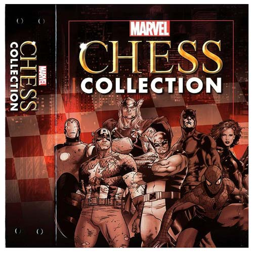 Marvel Chess Figure Collection Magazine Binder